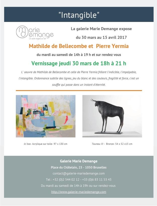 Invitation Galerie Marie Demange 2017